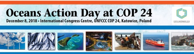 Oceans Action Day at COP 24 header
